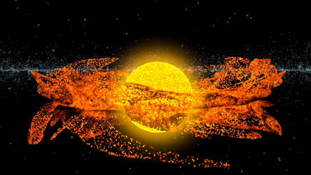 Star Burst by Lithium-Polygon