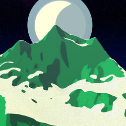 Mountain by Lithium-Polygon