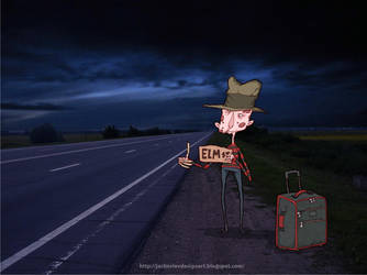 Hitchhiking by lost-angel-less