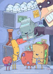 In the fridge! by lost-angel-less