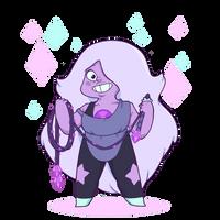 Steven Universe - Amethyst! by lost-angel-less