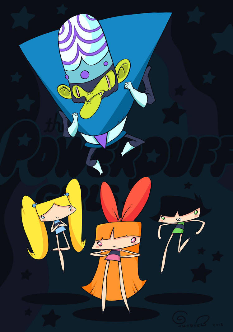 Powerpuff Girls! by lost-angel-less