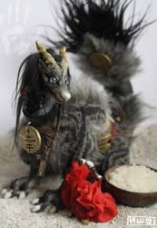 Sachi - the lucky dragon by hikigane