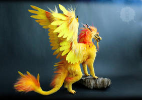 Lord Topaz - OOAK Dragon Doll by hikigane