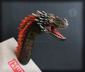 Drogon soft poseable bust by hikigane