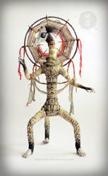 Sentinel-Vega poseable art doll by hikigane