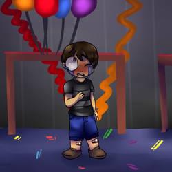 Crying Child (Fnaf 4) by MadMaddyGirl