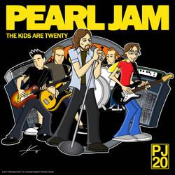 Pearl Jam: The Kids Are Twenty by IAMO76