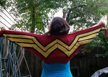 Wonder Woman Wrap by Glori305