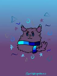 Moonwolf Bean by WeirdDragonDraws