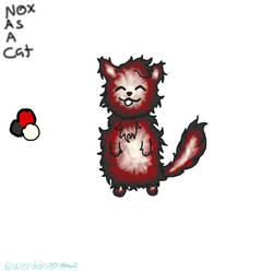 Nox Cat by WeirdDragonDraws