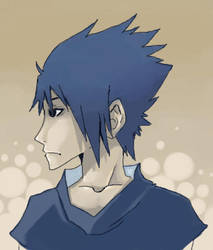 Sasuke by dark-reign