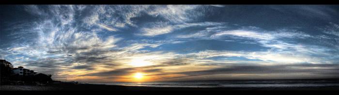 Last April Sunrise by Elemento11