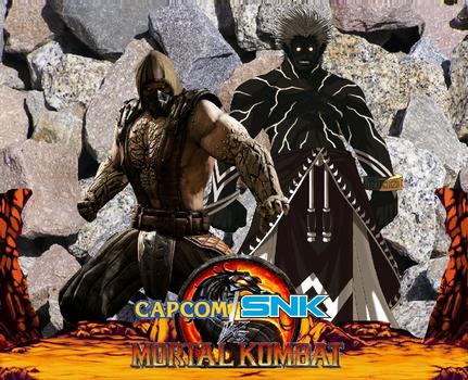 Capcom Snk Vs Mortal Kombat Masters Of Stone By Artmaster09 On