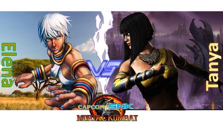 Capcom/SNK vs Mortal Kombat-Princess vs Outcast by ArtMaster09
