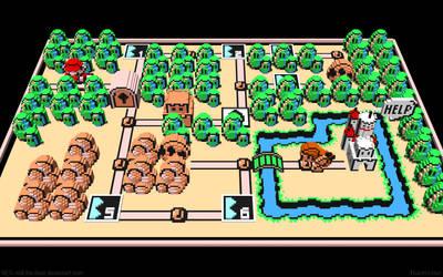 3D Nintendo Mario 3 by NES--still-the-best