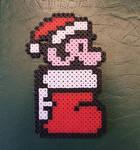 Perler Mario Ornament by NES--still-the-best