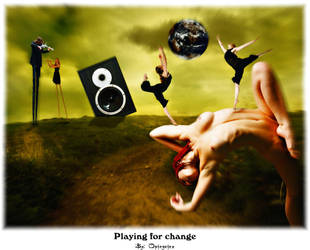 playing for change by opinguino