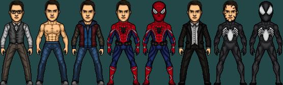 Spiderman - Peter Parker (Logan Lerman) by Dix3lar
