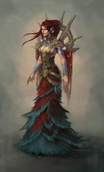 Brass Witch by Vetrova