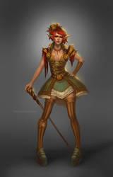 Circus Girl by Vetrova
