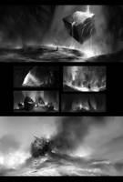 Bw Environment sketches by Vetrova