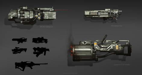 Weapon set by Vetrova