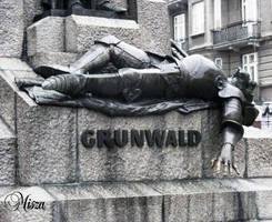 Grunwald Battle Statue-Krakow by Quenta-Silmarillion