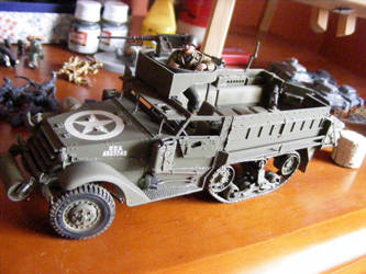 M3A2 Halftrack (WIP) (3) by Quenta-Silmarillion