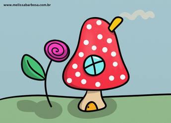 Mushroom home by MelBarbosa