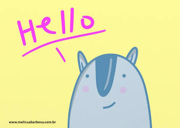 Hello! by MelBarbosa