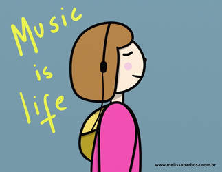 Music if life by MelBarbosa