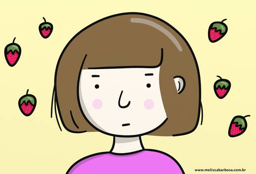 Strawberry season by MelBarbosa