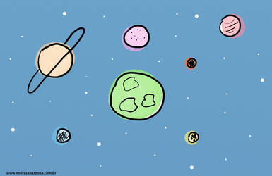 Space on a Wednesday by MelBarbosa