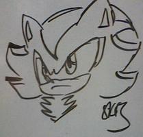 Whiteboard Shadow by sonikkuruzu