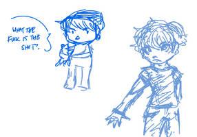 New OC doodles by sonikkuruzu