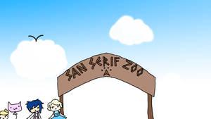 San Serif Zoo by sonikkuruzu
