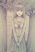 High School Girl by hector026