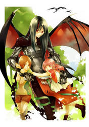 the dragon and children by sei-ya