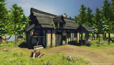 Forest House UDK by amaterasu111