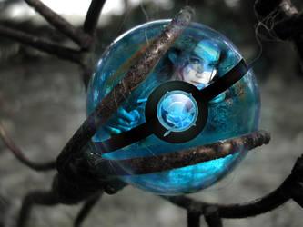 Katniss Pokeball by Quechnitlan