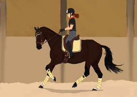 Crosby's Clinic Day 4 - Advanced Dressage by Julsquick