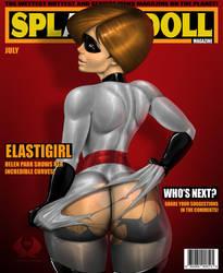 Elastigirl - Splassh Doll Magazine by THA-X