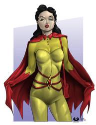 Mro16's Batwoman by THA-X