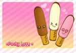 Pocky Love Wallpaper by kickass-peanut