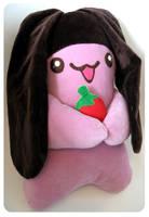 Apollo Bunny Plushie by kickass-peanut