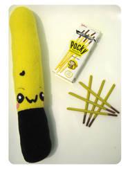 Choco Banana Pocky by kickass-peanut