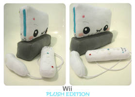 Wii Plush Edition by kickass-peanut
