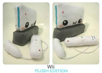 Wii Plush Edition by kickass-peanut