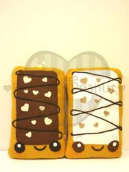 Chocolate Toaster Pastry by kickass-peanut